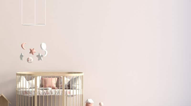 chambre d'enfant rose