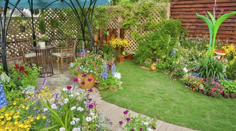 jardin beaux jour