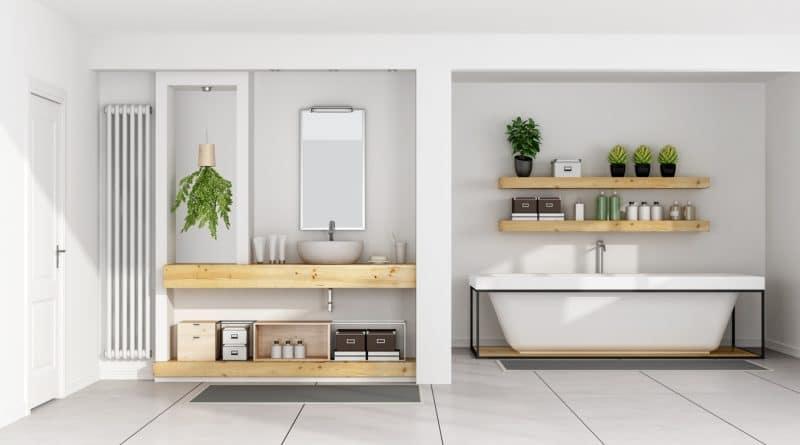 lavabo et baignoire