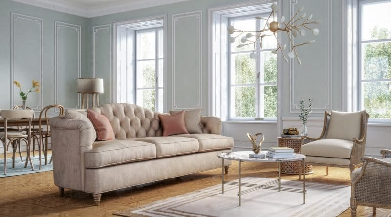 appartement style classique