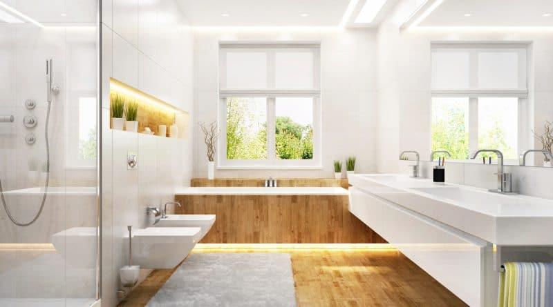 salle de bain agréable